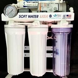 دستگاه تصفیه آب خانگی 6مرحله همراه با مخزن ذخیره آب و شیر مجزا